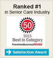 Ranked #1 in Senior Care Industry