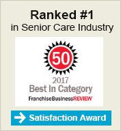 Ranked 1 in Senior Care Industry 2017