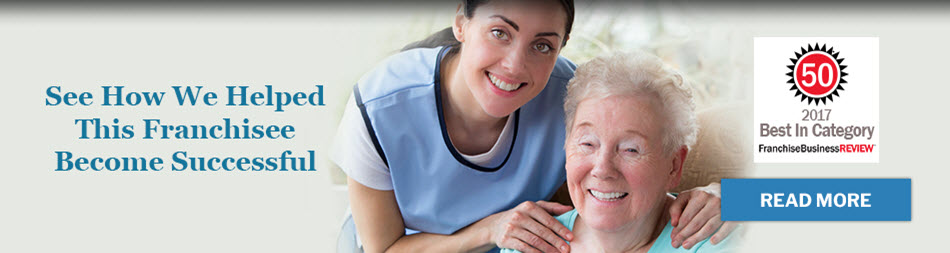 See how we helped these senior care franchisees become successful